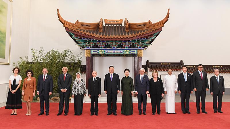 Xi veranstaltet Bankett für Gäste der CDAC