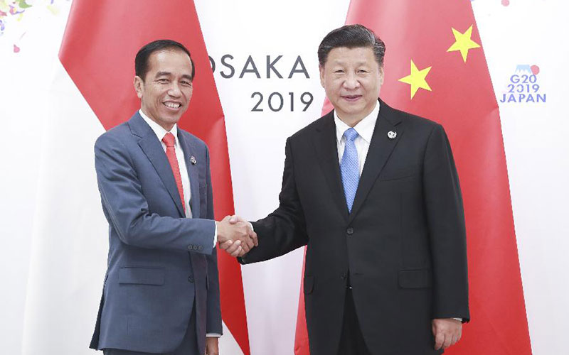 Xi Jinping trifft indonesischen Amtskollegen in Osaka