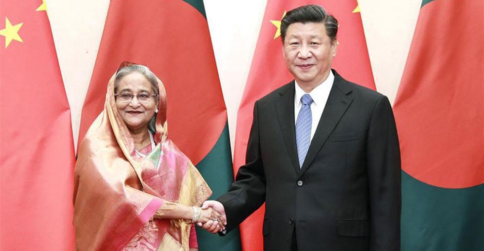Xi Jinping trifft bangladeschische Premierministerin in Beijing