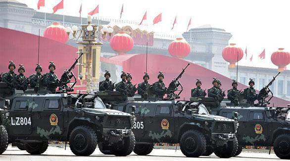 (Nationalfeiertag) China zeigt Anti-Terror-Truppen bei Militärparade