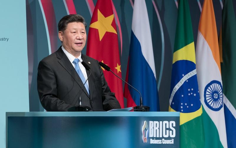 Xi drängt auf aktive Teilnahme des Unternehmenssektors an BRICS-Zusammenarbeit