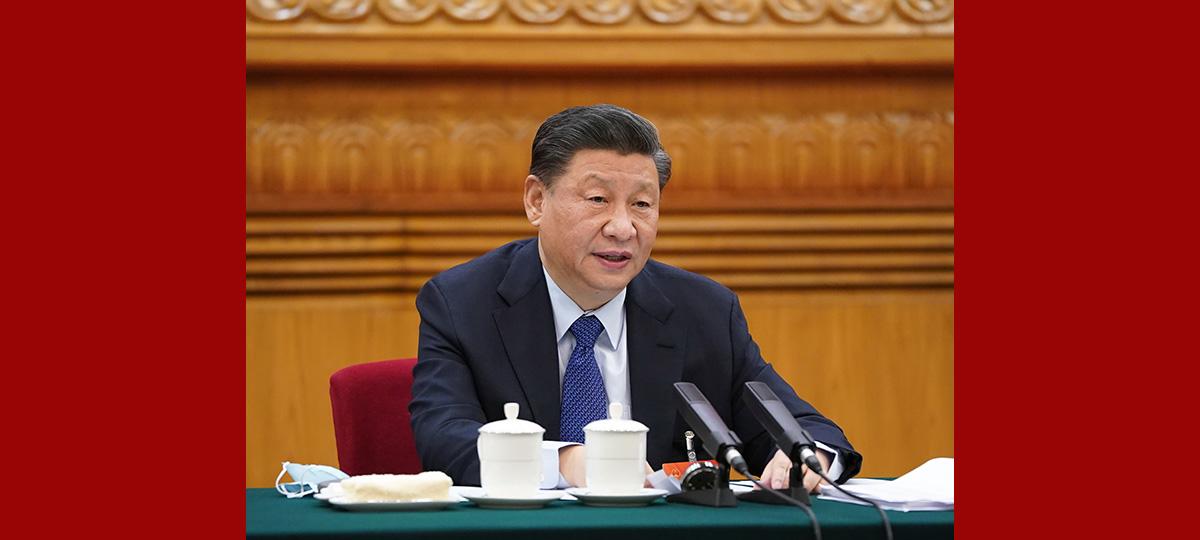 Xi betont qualitativ hochwertige Entwicklung und Verbesserung des Wohlbefindens der Menschen
