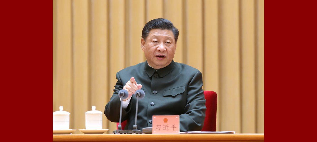 Xi fordert guten Start bei Stärkung der Streitkräfte und der nationalen Verteidigung in den Jahren 2021-2025