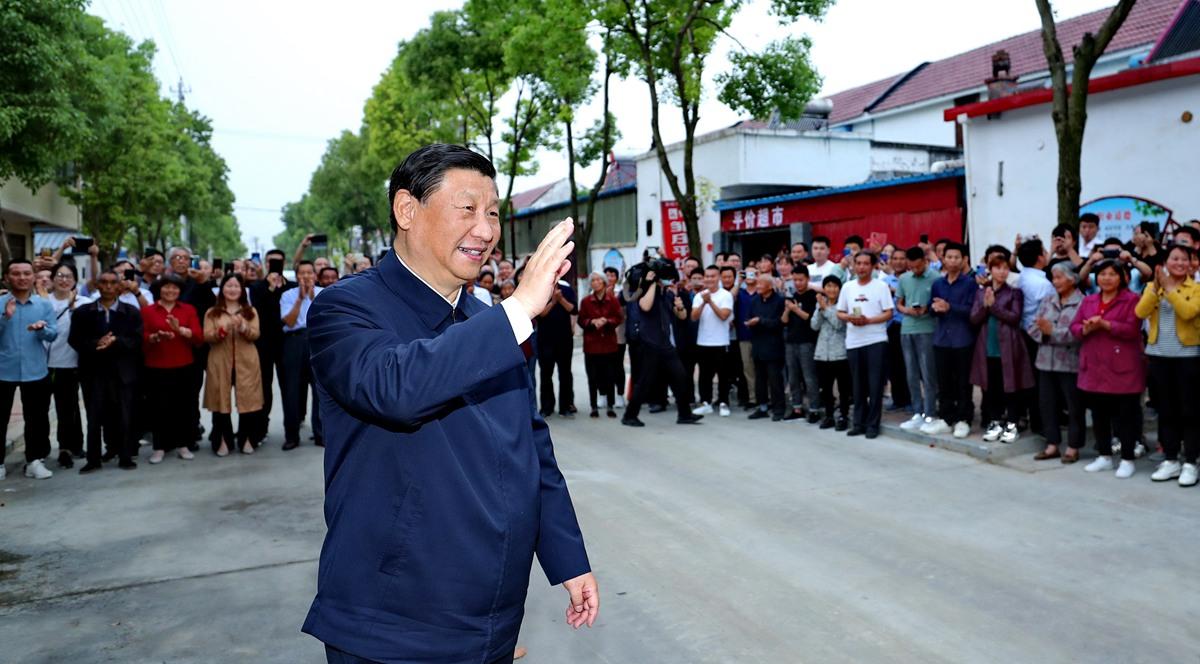 Xi betont Streben nach Wohlergehen der Menschen