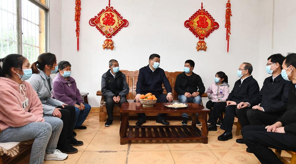 Xi inspiziert Guangxi in Südchina