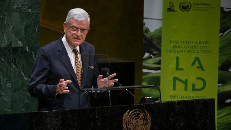 Präsident der UN-Generalversammlung fordert dringende Maßnahmen gegen nicht nachhaltige Landwirtschaft