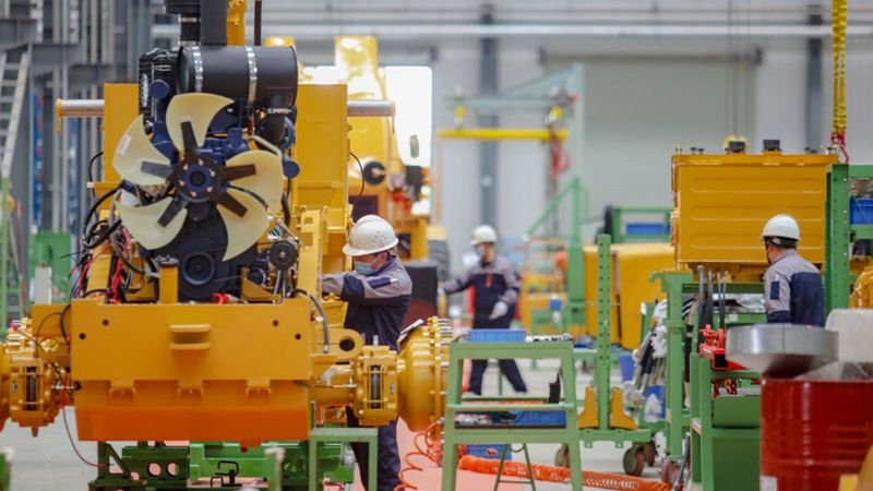 Chinas Maschinenbausektor meldet stabiles Wachstum für Januar bis April