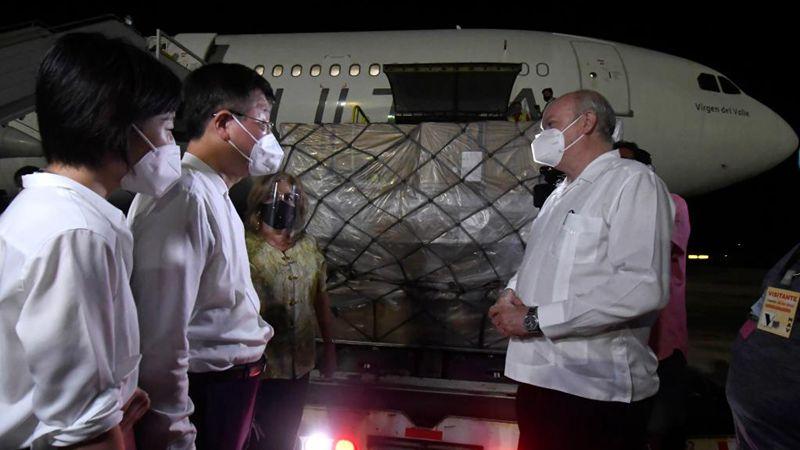 Kuba erhält angesichts der Verschärfung der Pandemie medizinische Versorgung aus China