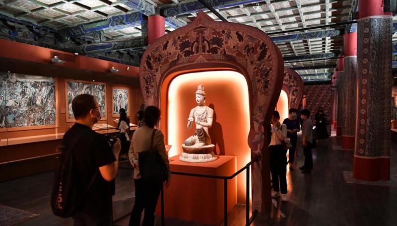 Ausstellung über die Dunhuang-Kultur im Palastmuseum eröffnet