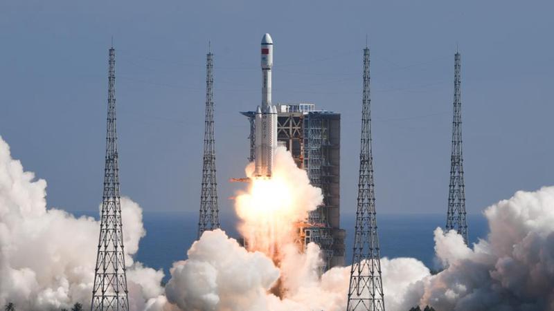 China startet Versorgungsraumschiff Tianzhou-3