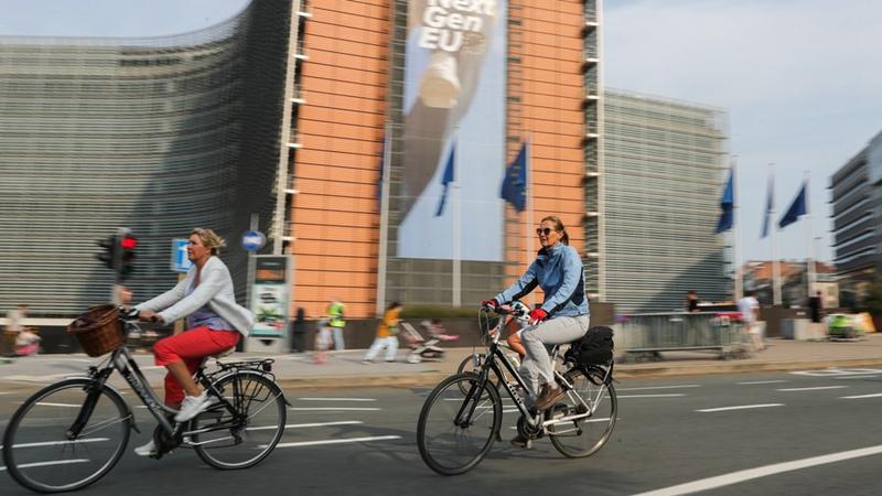 Autofreier Sonntag in der belgischen Hauptstadt