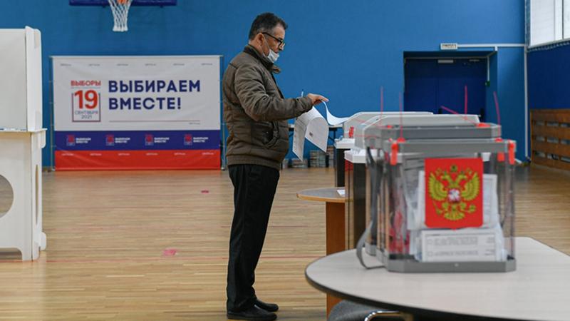 Wahlbeteiligung bei den Duma-Wahlen in Russland liegt bei 40,49 Prozent