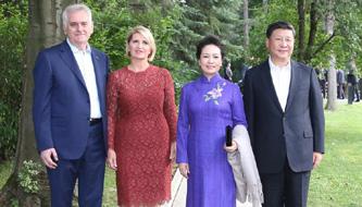 Xi trifft serbischen Präsidenten in Belgrad