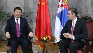 Xi Jinping trifft serbischen Ministerpräsidenten
