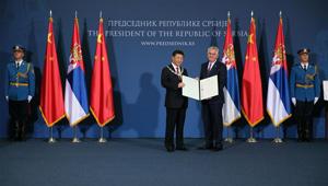 Der serbische Präsident verleiht Xi Jinping den Orden der Republik Serbien