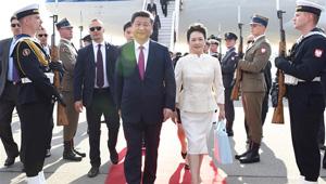 Xi Jinping trifft für Staatsbesuch in Polen ein