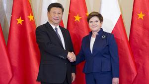 Xi Jinping trifft polnische Ministerpräsidentin