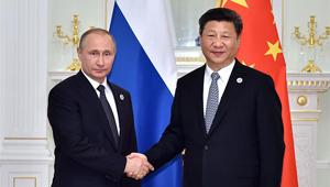 Xi und Putin treffen sich, um regionale Rolle der SOZ zu fördern