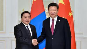 Xi Jinping trifft mongolischen Präsidenten in Usbekistan