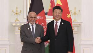Xi Jinping trifft afghanischen Präsidenten in Taschkent