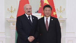 Xi Jinping trifft weißrussischen Präsidenten in Usbekistan