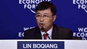 Diskussion zur Lösung von Chinas Verschmutzungsproblemen auf dem Davos-Sommerforum