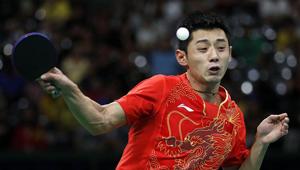 Zhang Jike wird sich für Tischtennis-Halbfinale qualifiziert