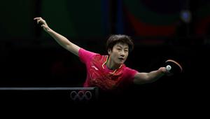 Halbfinale im Frauen-Tischtennis in Rio: Ding Ning besiegt Kim Song I 4:1