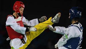 Wu Jingyu verliert Viertelfinale des Frauen Taekwondo