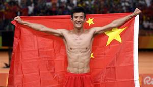 Chen Long gewinnt Goldmedaille im Badminton-Herreneinzel