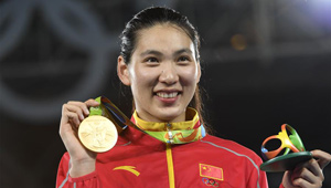 Zheng Shuyin gewinnt Goldmedaille bei Taekwondo-Finale über 67 kg