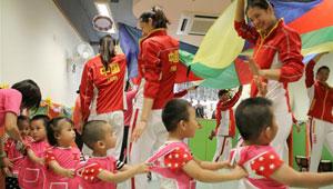 Besuch der chinesischen Olympioniken in Macau