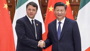 Xi Jinping trifft italienischen Premierminister in Hangzhou