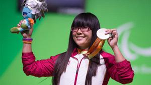 Cui Zhe holt Silber im Gewichtheben der Frauen bei den Paralympischen Spielen in Rio