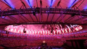 Abschlusszeremonie der Paralympischen Spiele 2016 in Rio