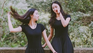 Zwillingsstudentinnen an der Universität Zhejiang viral online