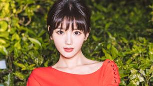 Schauspielerin Mao Xiaotong wie eine Elfe