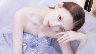 Schauspielerin Lin Yun in Fashionshoots