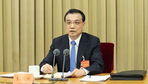 Li Keqiang hält eine Rede bei der Zentralen Konferenz für Wirtschaftsarbeit