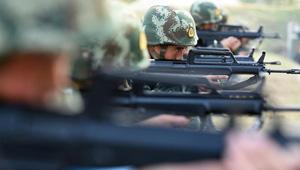 SWAT-Team Übung in Hefei
