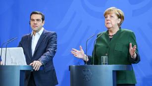 Merkel trifft griechischen Premierminister Alexis Tsipras in Berlin