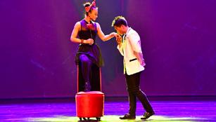 3. chinesisches Akrobatik-Kunstfestival in Luoyang abgehalten