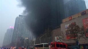 Brand in Einkaufszentrum in Zhengzhou hatte keine Opfer zur Folge