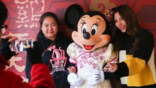 Traditionelle chinesische Elemente im Disneyland