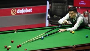 Ding Junhui besiegt Kyren Wilson in der ersten Runde der Snooker-Meisterschaften 2017