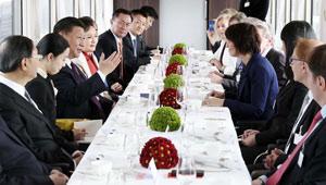 """Chinesischer Staatspräsident begrüßt """"beispielhafte"""" Partnerschaft von China und der Schweiz"""
