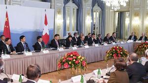 Xi fordert chinesische und schweizerische Geschäftskreise auf, Handelsbeziehungen voranzutreiben