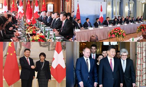 Ein Blick auf den zweiten Tag von Xis Reise in der Schweiz