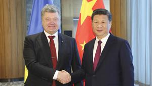 Xi Jinping trifft ukrainischen Präsidenten in Davos