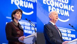 Eröffnungssitzung des Jahrestreffens des Weltwirtschaftsforums in Davos
